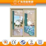 Guichet de glissement en aluminium populaire fait par le constructeur de Foshan