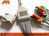 Kompatibles Schiller 2.400116e Direct-Connect EKG Kabel