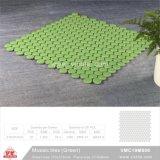 Mosaico de cerámica de material de construcción de piscina mosaico (VMC19M001, 310x315mm+D19X6mm)