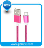 Cavo superiore del USB del nylon per il iPhone Samsung Andriod