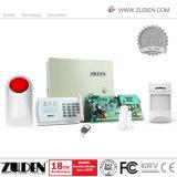 Sécurité sans fil cellulaire quadribande GSM Système d'alarme d'accueil