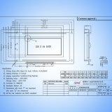 LCD van Syb128X64 AV30 Module 3.2 Duim 12864 Grafische LCD Vertoning LCM