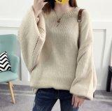 As mulheres 's pulôver luva esfoliante casaco de inverno 2017 Novo suéter feminina (BTQ232)