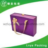 Плоская упакованная бумага печатание складывая складную сложенную коробку подарка хранения картона упаковывая