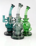 Tuyau d'eau en verre Mothership Faberge plates-formes pétrolières en verre