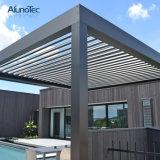 Justierbares mit Luftschlitzenpergola-Öffnungs-Dach-System