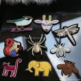 Änderung am ObjektprogrammSequin der Zoolog Rhinestone-Stickerei-3D bördelt Kleid-Zubehör