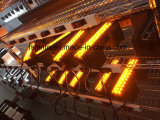 52inch 호박색 Offroad 이중 색깔 LED 표시등 막대, 파란 빛