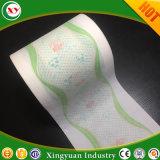 In pieno e pellicola respirabile concentrare della laminazione per lo strato della parte posteriore del pannolino