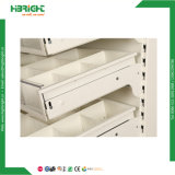 Rack de Exibição de farmácia Drogaria suporte de monitor da gaveta