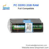 Petite carte à circuit imprimé de 2 Go de mémoire RAM DDR3 de bureau 1333MHz puce de la marque