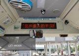 Diodo emissor de luz que anuncia a placa para o barramento (quadro de avisos bicolor)