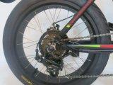 La suspensión total bicicleta eléctrica plegable con Fat neumático (TDN05Z-fat)