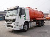 Sinotruk HOWO 6X4 336HP 16000 Liter Abwasser-Absaugung-LKW-