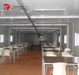 Ufficio prefabbricato del contenitore della lamiera di acciaio
