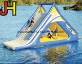 移動式膨脹可能なプール水公園のための浮遊水スライド