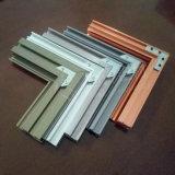 China construcción plana manufactura Perfil de extrusión de aluminio