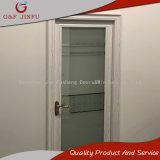 Puerta de entrada de aluminio revestida de la puerta del cuarto de baño de la potencia del precio bajo
