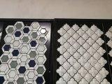 フランスの市場のための台所Backsplashの磁器の不規則なモザイク