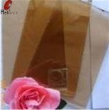 3mm de verre teinté bronze doré/verre flotté teinté
