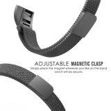 Cinturino milanese liscio sottile del ciclo dell'acciaio inossidabile per Fitbit Alta