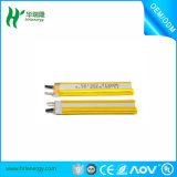 Batería recargable 3.7V, batería del ion de Lipo del ion de 410mAh Li