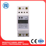 Метр электричества кнопки давления рельса DIN франтовской, метр киловатт-часа, метр Kwh