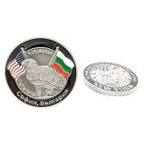 정지하십시오 고객 디자인 (CO04-C)에 있는 주물 아연 합금 금속 동전을