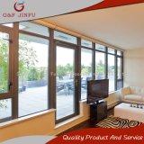 Wärmeisolierung-wasserdichter doppelter Glasaluminiumeintrag/französische Türen