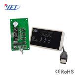 12-30V código evolutivo Progammble LCD USB ainda Receptor Porta850