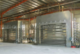 Máquina quente hidráulica automática da imprensa para fazer o MDF do painel de partículas da madeira compensada