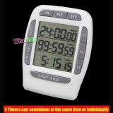 Temporizador de contagem decrescente do temporizador digital de cozinha Countup Relógio 99 Horas