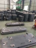 Lieferungs-Kabine-hohle Aluminiumtür