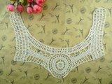 Вороты шнурка вязания крючком хлопка конструкции шеи цвета Whitle