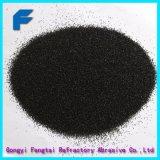 Granulosità nera dell'allumina fusa Cundroum per sabbiatura e polacco