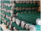 機密保護の囲うことのためのPVCによって塗られる編まれた金網