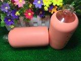 500ml de água Garrafa com luva de silicone para promoção
