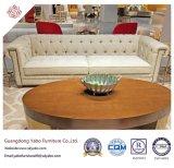 Mobilia elegante dell'hotel con il sofà tre con la decorazione (YB-O-37)