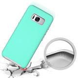 Cassa robusta del telefono delle cellule del tasto di placcatura per Samsung S8 più