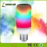 3W 5W 7W 9W colorido llama LED Bombilla para decoración de fiesta