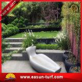 Hierba artificial del más nuevo del diseño paisaje más barato del jardín 40m m