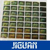 Fabrikmäßig hergestellter wasserdichter anhaftender Hologramm-Aufkleber