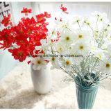 Crisantemi falsi di seta dei fiori artificiali della begonia in commercio all'ingrosso