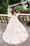 Мантии платья венчания шарика Шампань шнурка lhbim Bridal