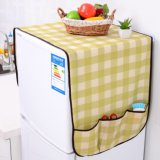 Крышка холодильника ткани с карманн для Sundries устроителя хранения