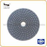 Ferramenta de diamante almofada de polir resina úmida de mármore e granito