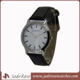 Nuova vigilanza di cuoio alla moda del braccialetto per l'orologio del diamante del quarzo delle donne