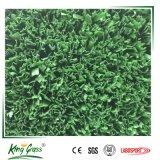 Tappeto erboso verde-cupo di tennis di filato fibrillato