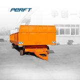 Transferencia de acero de manejo de carretilla elevadora vehículo de carga pesada