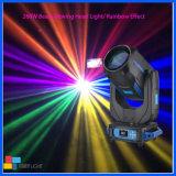 Iluminación de escenarios 260W DMX DJ haz de luz en movimiento